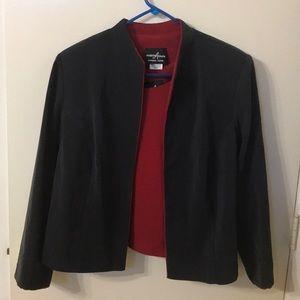 Positive attitude Petit blazer and matching top